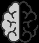 ícone  de um cérebro