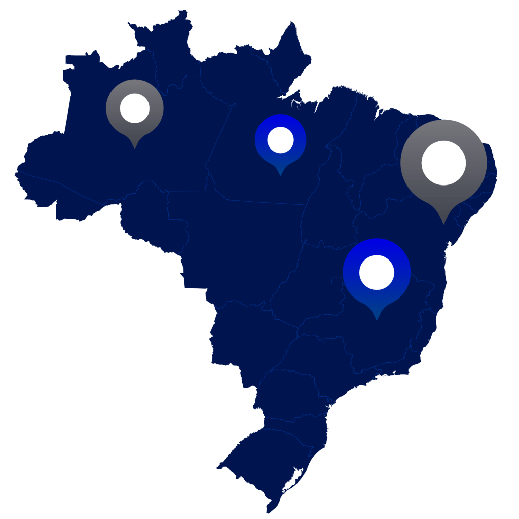 imagem do mapa do brasil